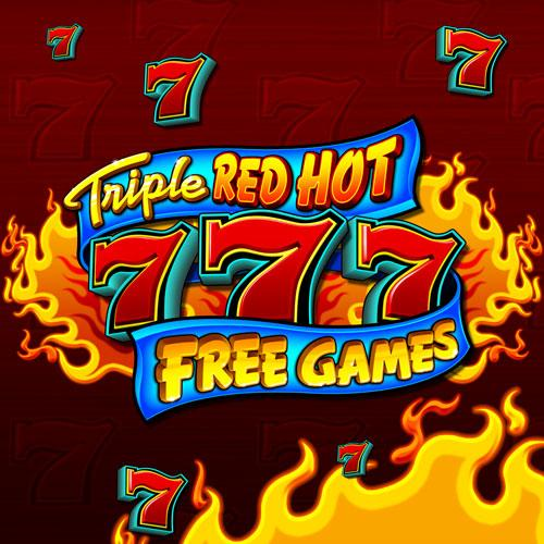 Triple Red Hot 7's Free Games
